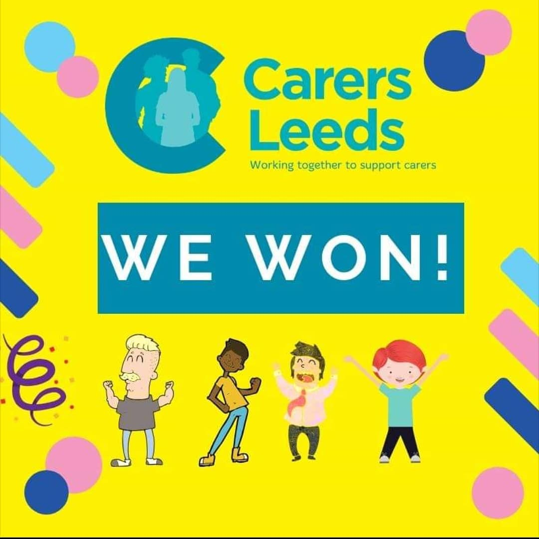 We have been awarded the carer support contract from @leedscc_  for 5 years!