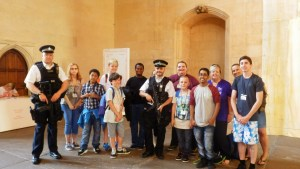 Young carers visit Parliament