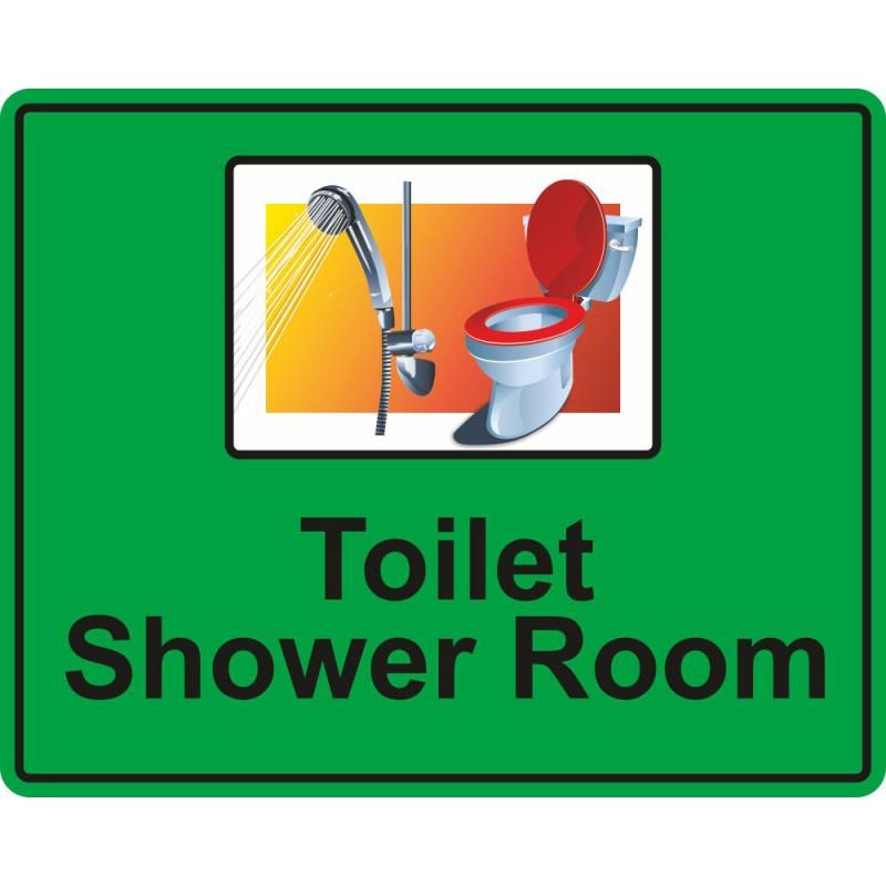 Eyeway Toilet Shower Room Sign