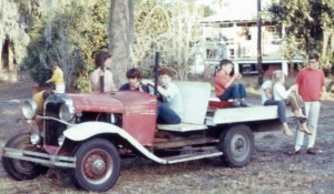 The First Car They Drove