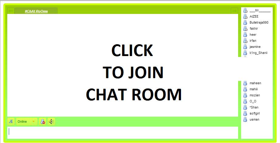 pakistani chat rooms