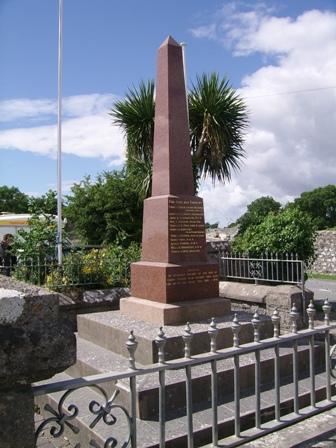 Carew War Memorial
