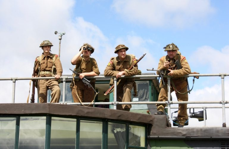 The Welsh Tommie Re-Enactment Group