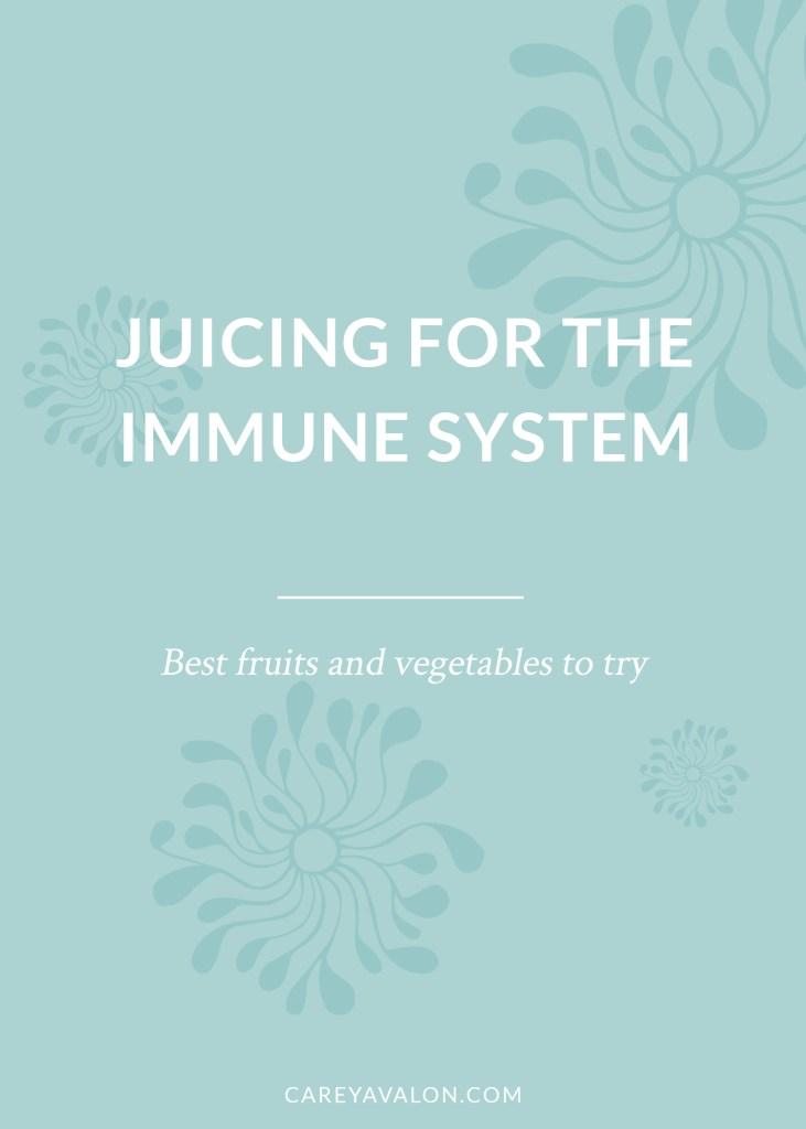 juicing immune system