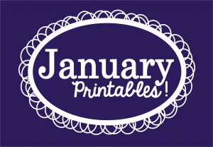 Jan Printables Slider