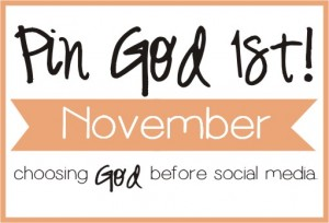 November Pin God 1st Logo
