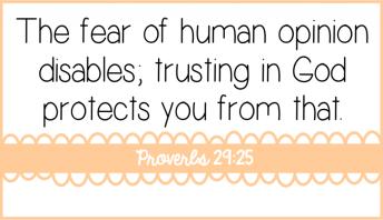 Fear disables