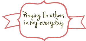 praying for others