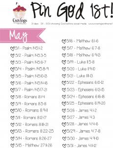 May 2014  Pin God 1st Plan