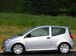 2003 Citroën C2 14 HDi car specifications, auto technical