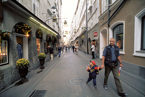Salzburg Pedestrians