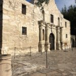 Built in 1718, the Alamo is hallowed ground for Texans. Me weekend