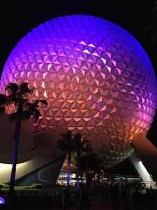 Epcot, Walt Disney World, Epcot at Niight