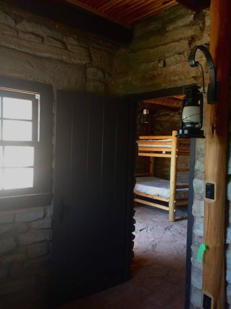 Historic Cabins in Palo Duro Canyon, Texas - Carful of Kids