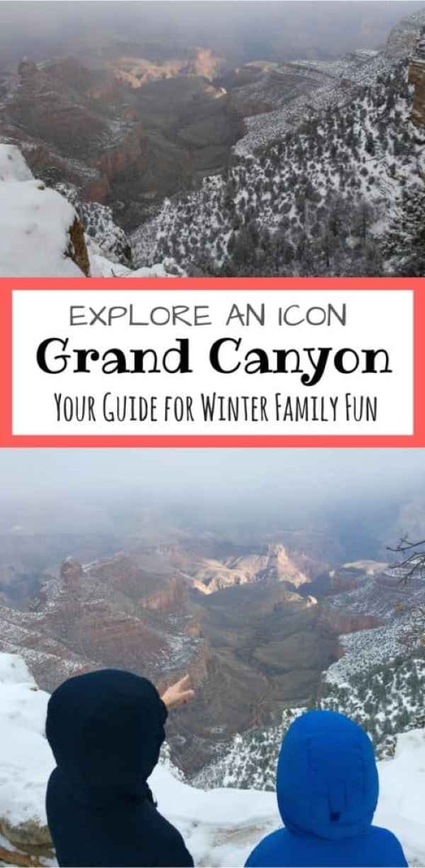 Visit an icon with a chance of snow during the winter. Grand Canyon transforms with a dusting of snow and doesn't stop the fun.