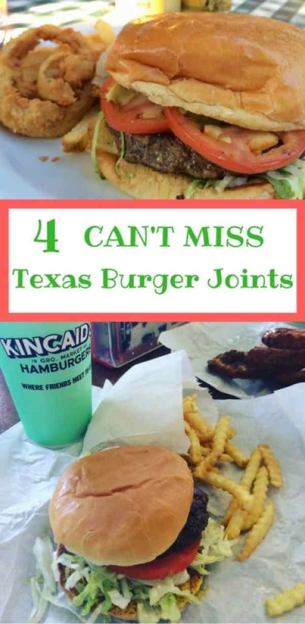 Looking for some authentic burger joints, I pulled together a few of my favorites from Texas.