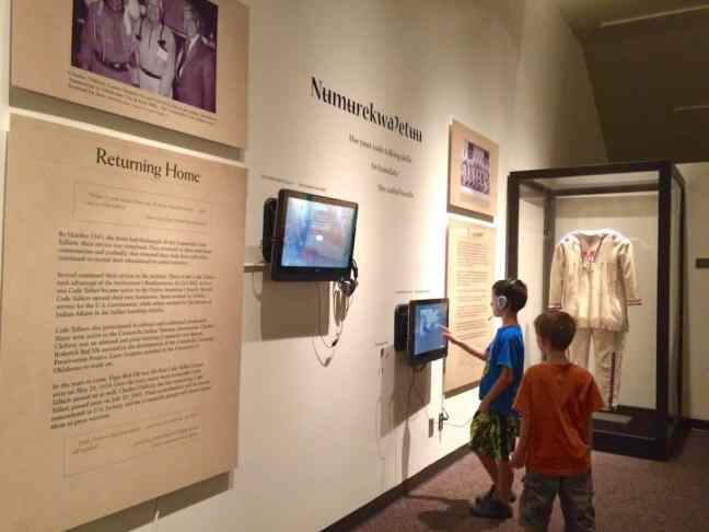 Explore the Comanche National Museum when you explore Lawton with kids.