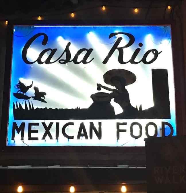 Casa Rio Mexican Food offers San Antonio River Walk dining and kid-friendly tacos.