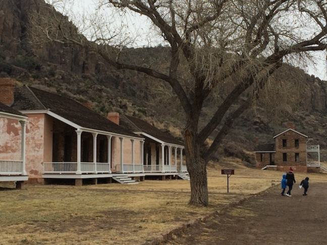 Explore a western frontier fort in West Texas at Fort Davis.
