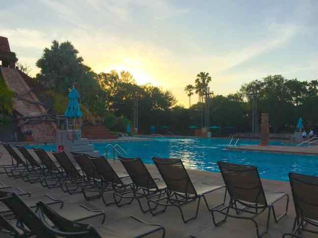 The Lost City of Cibola pool is a destination for most while staying at the Coronado Springs Resort.