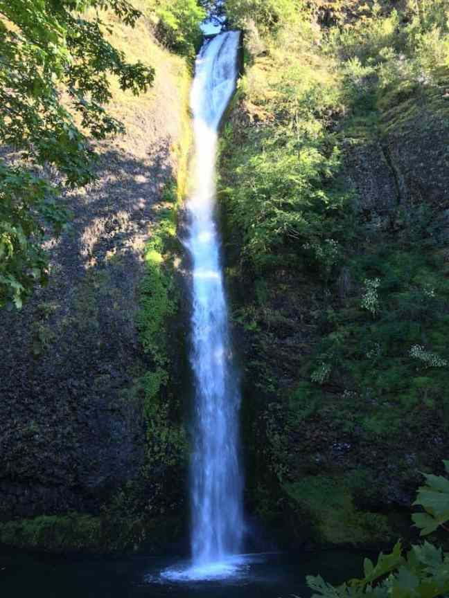 Visit Horsetail Falls when you explore Columbia River Gorge with kids.