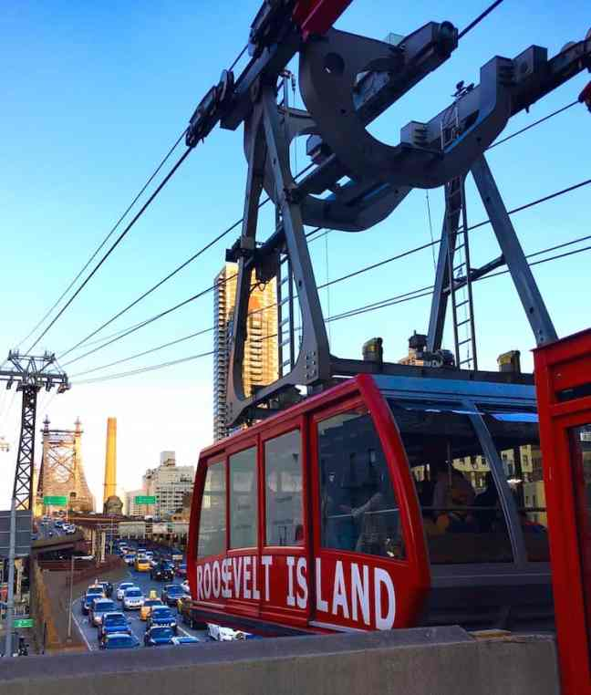 Planning a NYC trip to a youth group take the Roosevelt Island Tram for fun.