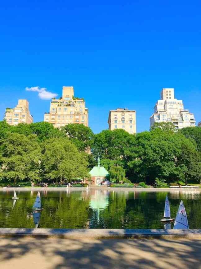 Visit Conservatory Water during your 4 day NYC itinerary.