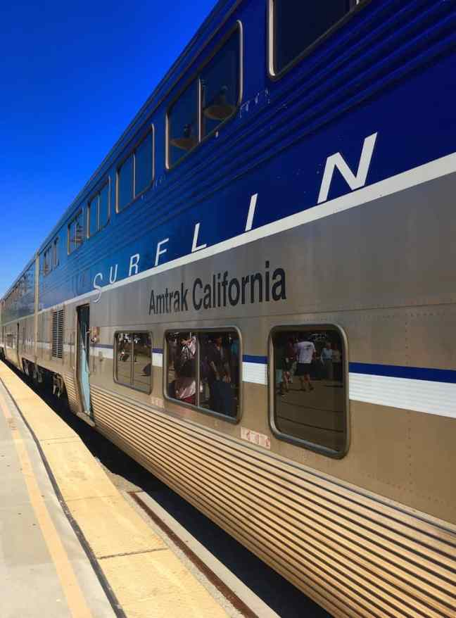 Tips for take the Coast Starlight in California
