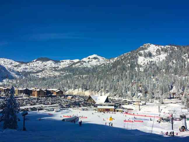 Enjoy Squaw Valley with kids where to take kids skiing in Lake Tahoe.