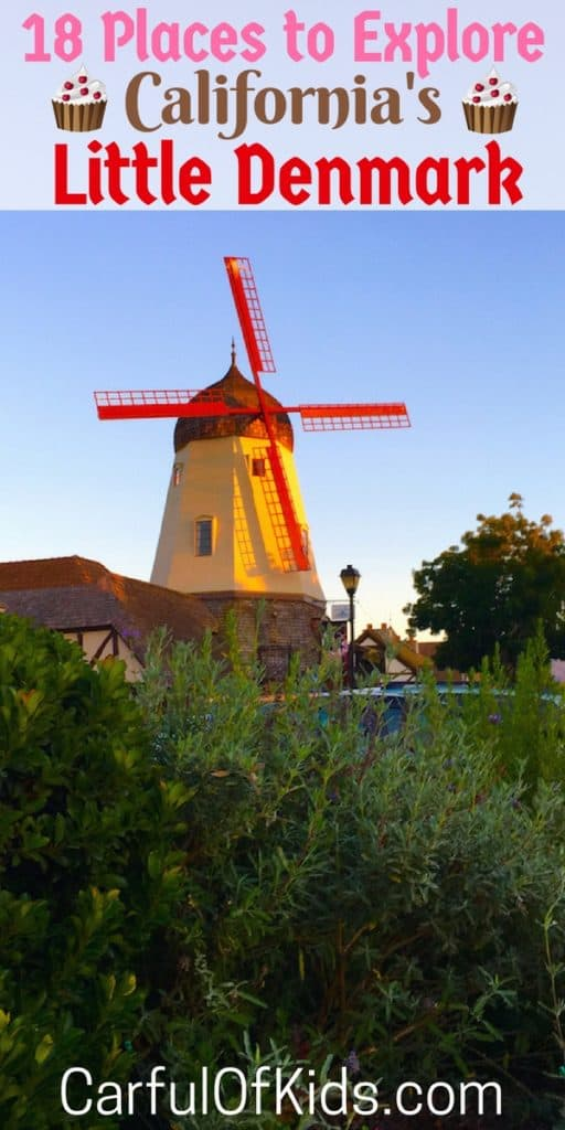 Scroll down the charming streets of Solvang to find traditional bakeries and monuments from the old country. Browse for clogs or taste the richness of the local wine, with or without kids on your next getaway.