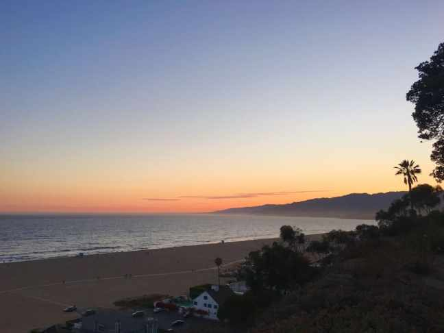 the beach is where to go in LA with kids