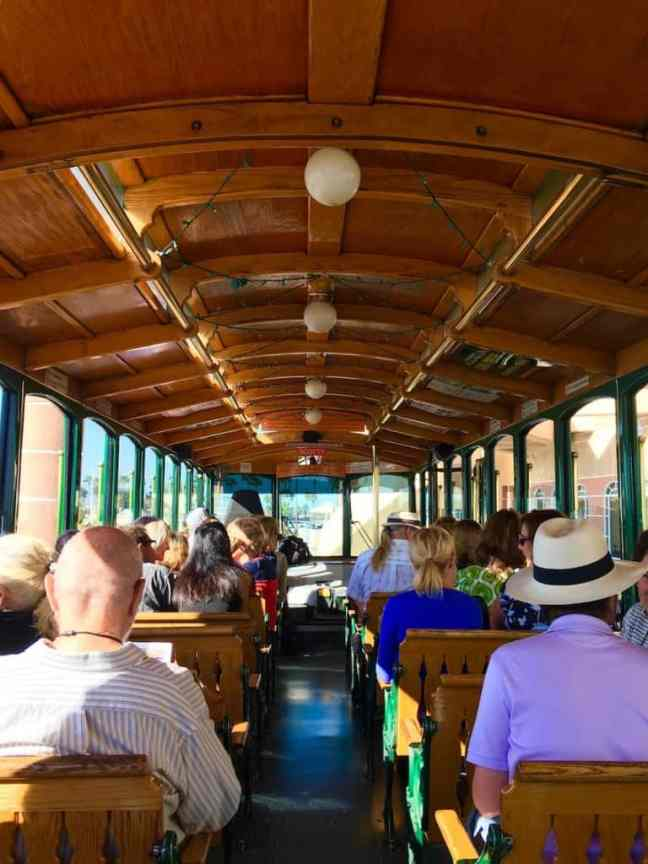 Old Trolley Tour. Where to go in San Diego with kids.