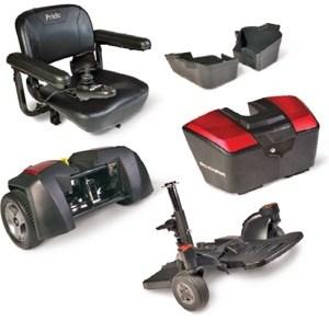 Silla de ruedas eléctrica modelo GoChair