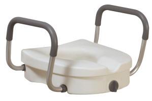 Aumento de altura para WC con agarraderas desmontables