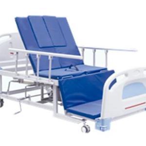 Cama tipo hospital con silla cardiaca
