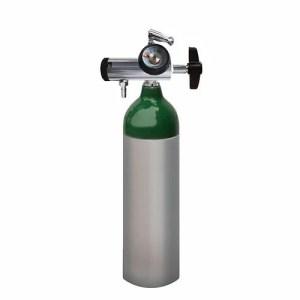 Equipo de oxígeno portátil de 170 litros con regulador
