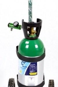 Equipo de oxígeno portátil de 1700 litros con regulador