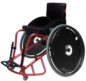 Silla de ruedas para jugar basket ball