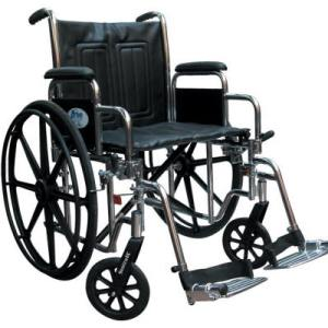 Silla de ruedas para pacientes obesos