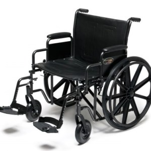 Silla de ruedas para sobrepeso