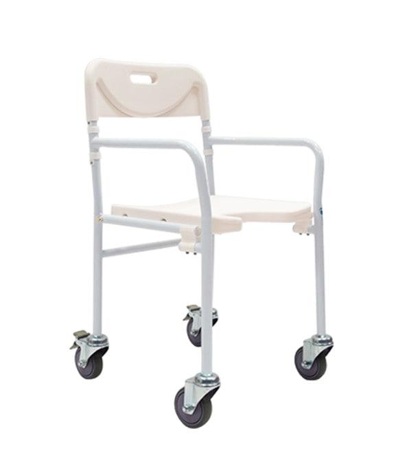 Silla ducha plegable con ruedas R204141