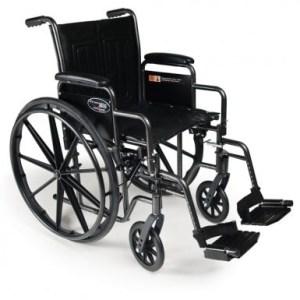 Silla de ruedas médica