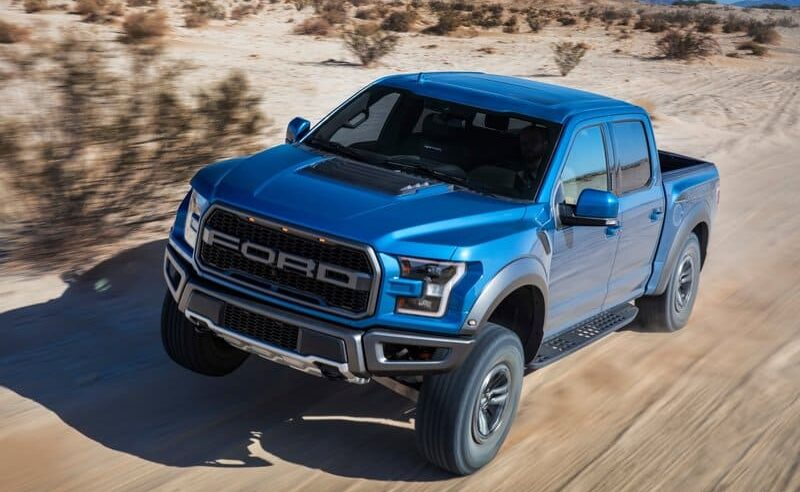 Next Ford F-150 Raptor Brings a Coil-Spring Rear Suspension
