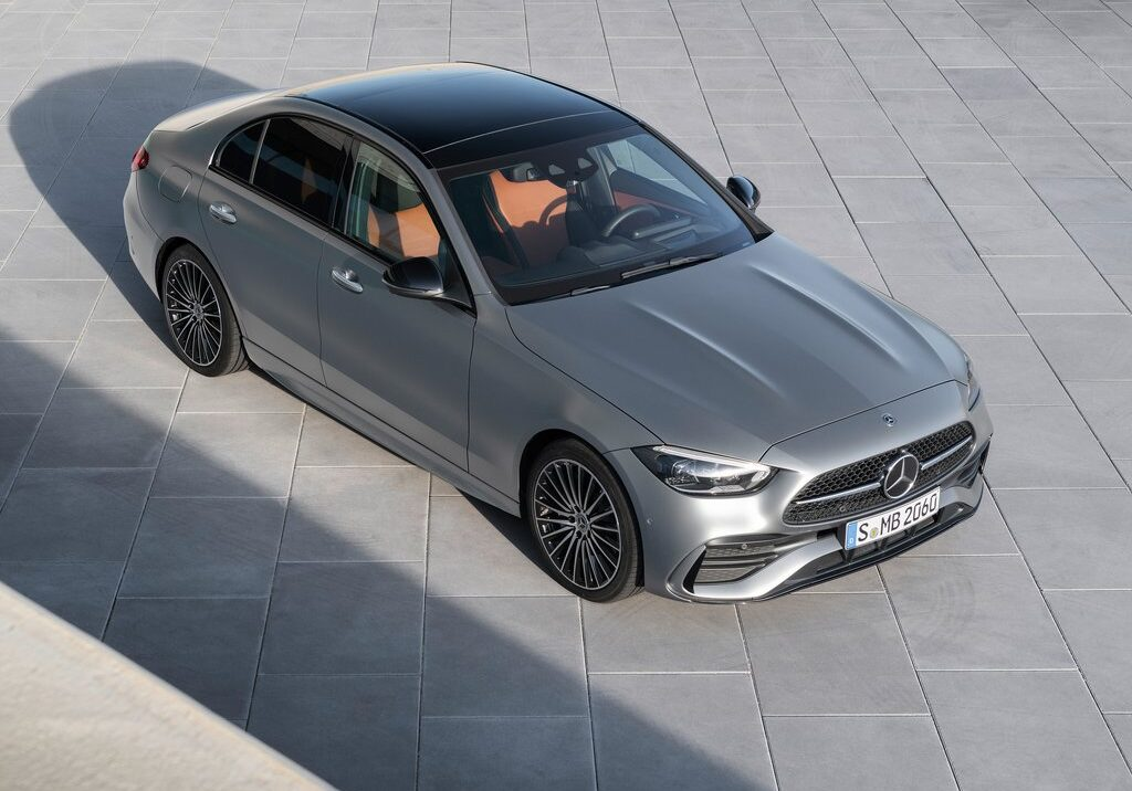 Mercedes Takes the Wraps off the Redesigned 2022 C-Class