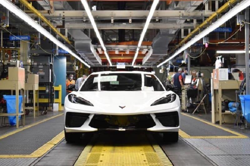 2021 Chevrolet Corvette Production Put on Pause Due to a Parts Shortage