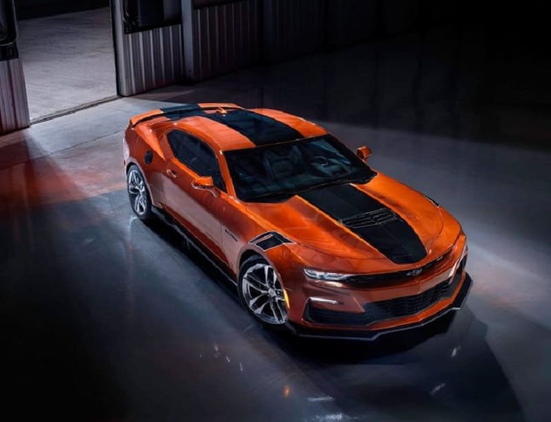 Updated 2022 Chevrolet Camaro Goes into Production on September 20