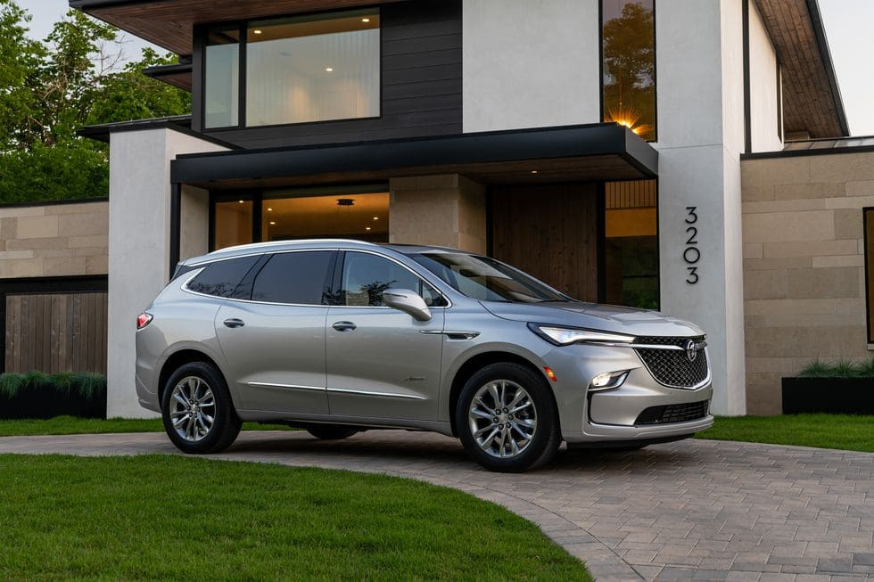 Buick Enclave Restyled For the 2022 Model Year: What Is New?