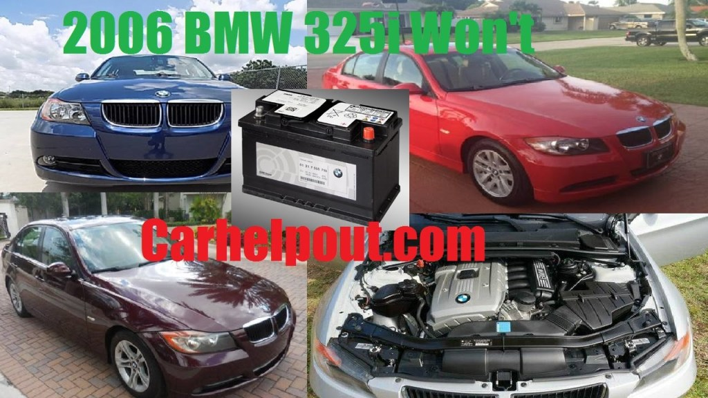 2006 BMW 325I Battery Replace Problem Mobile Mechanic