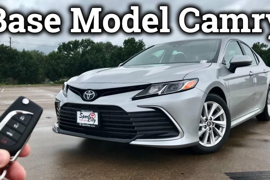 2021 Toyota Camry Mobile Mechanic Auto Car Repair Tips | Carhelpout