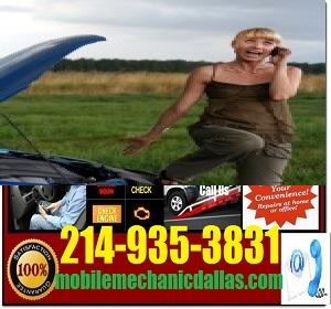 Mobile Mechanic Dallas Texas Roadside Assistance Service